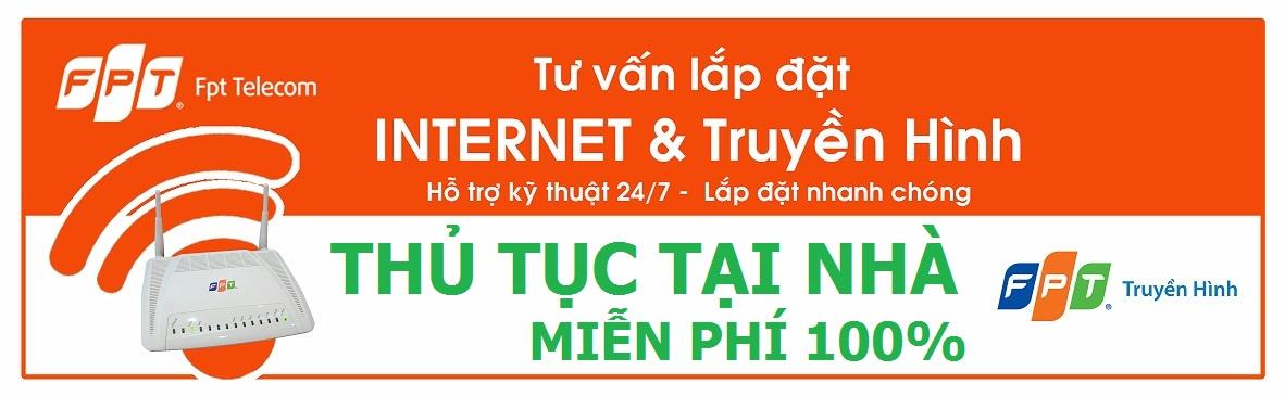 Bảng giá lắp internet FPT tại Bình Dương